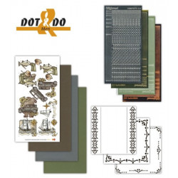 Dot and do 014 - kit Carte 3D - Passions d'hommes