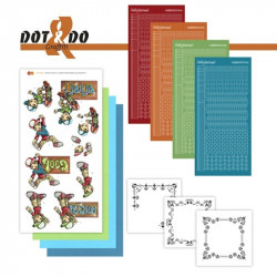 Dot and do 026 - kit Carte 3D - Graffiti