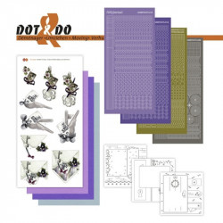 Dot and do 029 - kit Carte 3D - Envoi