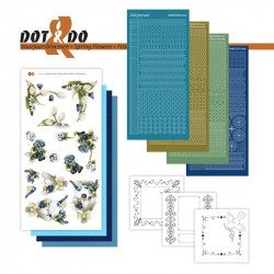 Dot and do 031 - kit Carte 3D - Fleurs de printemps