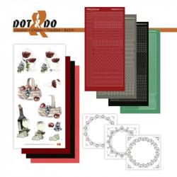 Dot and do 033 - kit Carte 3D - Raisins