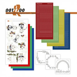 Dot and do 034 - kit Carte 3D - Hollande typique
