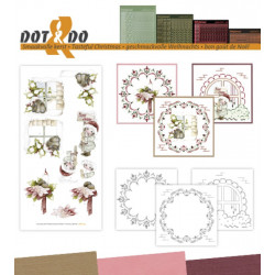Dot and do 044 - kit Carte 3D - Le goût de Noël