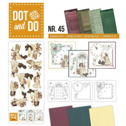 Dot and do 045 - kit Carte 3D - Chandelles