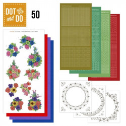 Dot and do 050 - Kit Carte 3D - Bouquets