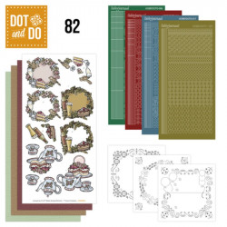 Dot and do 082 - kit Carte 3D - Anniversaire