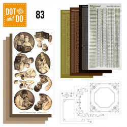Dot and do 083 - kit Carte 3D - Fête des pères