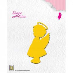 Shape dies ange fille 4,5x8,6 cm