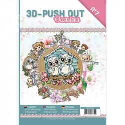 Carte 3D livre A4 prédécoupé - Evènements 24 images + papiers