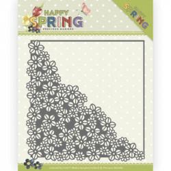Die - precious marieke - Happy Spring - Coins Fleurs