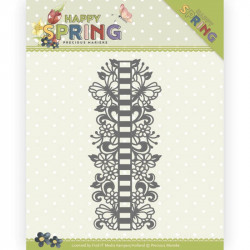 Die - precious marieke - Happy Spring - Bordure ruban