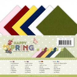 Set 24 cartes Happy spring  A5