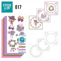 Stitch and do 017 - kit Carte 3D broderie - Noël