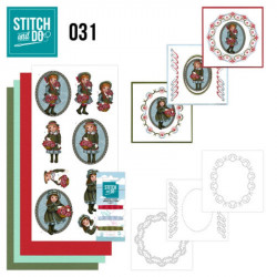 Stitch and do 31 - kit Carte 3D broderie - Bon rétablissement