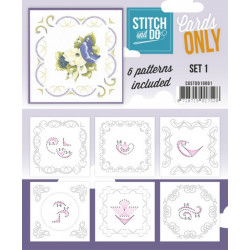 Cartes seules Stitch and do  - Set n°1