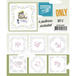 Cartes seules Stitch and do  - Set n°2