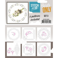 Cartes seules Stitch and do  - Set n°3
