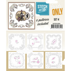 Cartes seules Stitch and do  - Set n°4