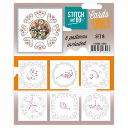 Cartes seules Stitch and do  - Set n°9