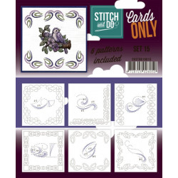 Cartes seules Stitch and do  - Set n°15