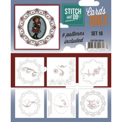 Cartes seules Stitch and do  - Set n°16
