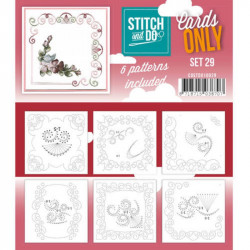 Cartes seules Stitch and do  - Set n°29