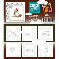 Cartes seules Stitch and do  - Set n°37
