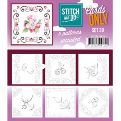 Cartes seules Stitch and do - Set n°39