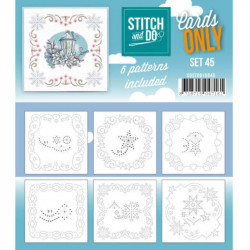 Cartes seules Stitch and do  - Set n°45