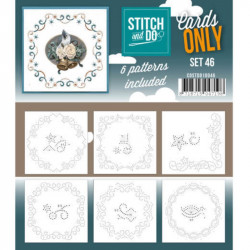 Cartes seules Stitch and do  - Set n°46