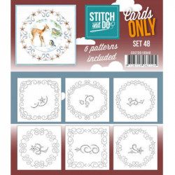 Cartes seules Stitch and do - Set n°48