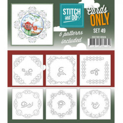 Cartes seules Stitch and do - Set n°49
