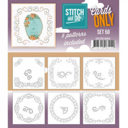 Cartes seules Stitch and do - Set n°50
