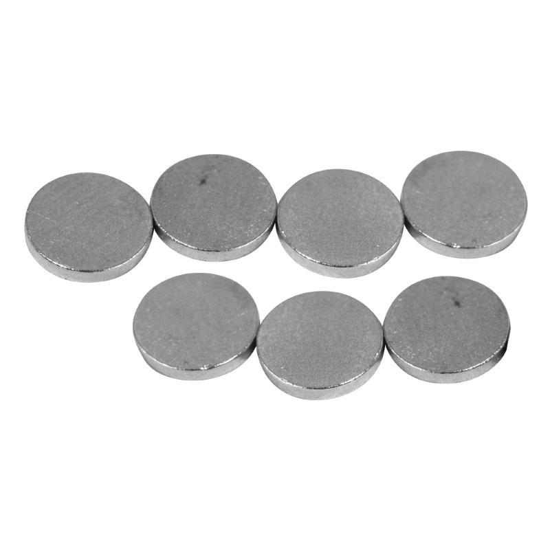 Aimants épaisseur 1mm diamètre 6 mm sachet de 20