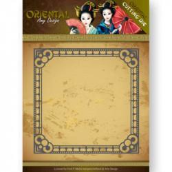 Die - amy design - oriental - Cadre 13x13 cm