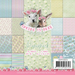 Bloc de papier - Amy Design - Spring is here 15.2 x 15.2