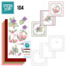 Stitch and do 104 - kit Carte 3D broderie - OIseaux tropicaux