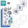 Stitch and do 105 - kit Carte 3D broderie - Arts manuels