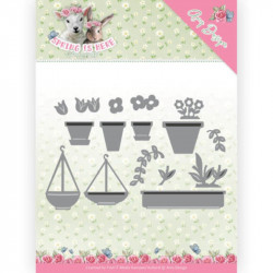 Die - amy design - Spring is here - Pots de fleurs 10x6.3 cm
