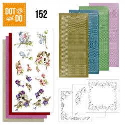 Dot and do 152 - kit Carte 3D - C'est le printemps