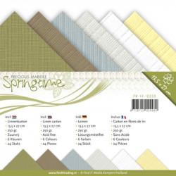 Set 24 cartes Springtime 13.5x27cm
