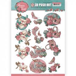 Carte 3D prédéc. -Yvonne créations - Flowers with a twist - Accessoires féminins - SB10339