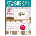 Stitch and Do Livre n°1 - Kit Carte 3D à broder
