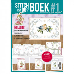 Stitch and Do Livre n°1 - Kit Carte 3D à broder