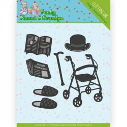 Dies - Yvonne Creations - Funky Nannas - Accessoires grand-père