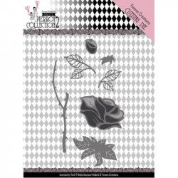 Dies - Yvonne Creations - Pretty Pierrot 2 - Rose