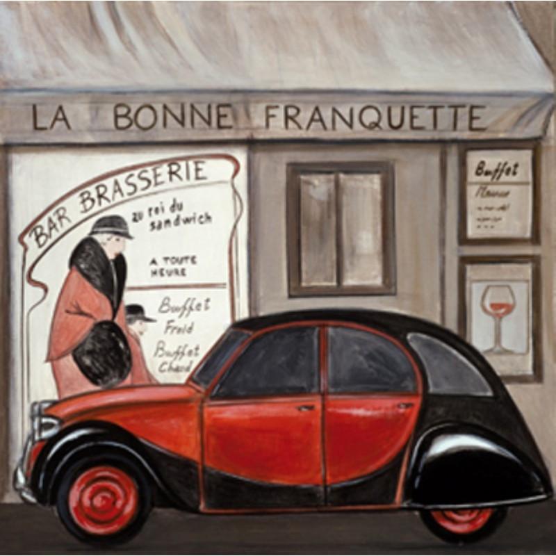 Image 3D - ncn 4965 - 30x30 - 2 CV La bonne Franquette - Aux Bleuets Loisirs créatifs à Reims