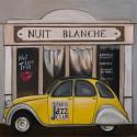 Image 3D - ncn 4965-2 - 30x30 - 2 cv jaune Nuit blanche
