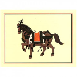 Image 3D - OR 24 - 24x30 - cheval brun oriental