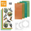 Dot and do 153 - kit Carte 3D - Animaux sauvages